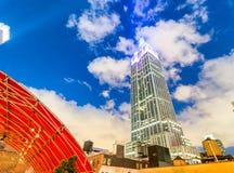 纽约- 2013年6月:在NYC的帝国大厦特写镜头 库存图片