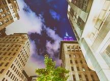 纽约- 2013年6月:在NYC的帝国大厦特写镜头 免版税库存图片
