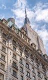 纽约- 2013年6月:在NYC的帝国大厦特写镜头 免版税图库摄影