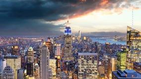 纽约-时间间隔,美国 影视素材