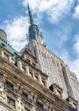 纽约- 2013年6月:帝国大厦 帝国Sta 免版税库存照片