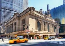 纽约-4月14日:历史的NYC,盛大中央终端a 免版税库存图片