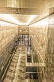 纽约- 2013年5月20日:帝国大厦内部  免版税库存图片
