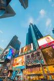 纽约- 2013年12月22日:时代广场 免版税库存图片