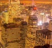 纽约- 2013年12月20日:更低的曼哈顿看法Decembe的 库存图片
