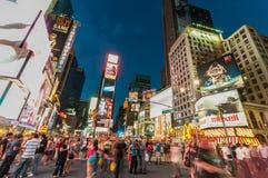 纽约- 2010年9月5日:9月5日的时代广场在新 库存图片