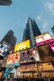 纽约- 2013年12月22日:12月22日的时代广场在美国 图库摄影