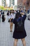 纽约- 9月15日- 2016摄影射击在纽约 免版税图库摄影