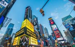 纽约- 2013年12月22日 图库摄影
