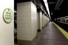 纽约- 9月01 :在Se的地铁盛大中央驻地 库存照片