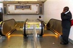 纽约- 9月01 :2013年9月01日的地铁无盖货车 免版税库存图片