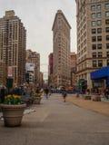 纽约-美国熨斗大厦在纽约 图库摄影