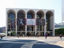 纽约-美国,林肯中心在纽约 免版税库存照片