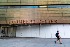 纽约/美国- 2018年7月27日:彭博中心buiding 库存照片