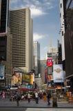 纽约-美国2016年9月13日-街道看的人们 库存照片
