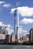 纽约-自由塔在更低的曼哈顿 库存照片