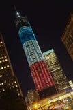纽约- 9月17 : 世界贸易中心 免版税库存图片