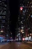 纽约-Januar 3 :商务的繁忙的旅游交叉点 图库摄影