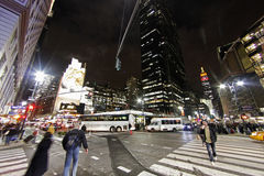 纽约Av 073 库存图片