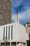 纽约LDS寺庙 库存照片