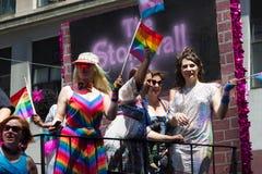 2016年纽约LGBT自豪感3月 免版税图库摄影