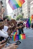 2016年纽约LGBT自豪感3月 免版税库存图片