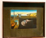 纽约MOMA -萨尔瓦多・达利-记忆坚持  免版税图库摄影