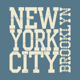 纽约T恤杉 免版税库存图片