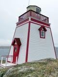 纽芬兰圣安东尼灯塔2016年 库存照片