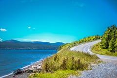 纽芬兰/加拿大- 2014年8月:在纽芬兰的夏天 免版税库存照片
