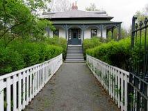 纽芬兰Brigus房子2016年 库存照片