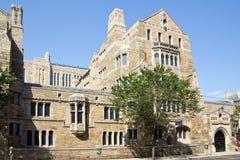 纽黑文,耶鲁大学 免版税库存图片