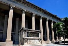 纽黑文, CT :耶鲁大学餐厅 免版税库存照片