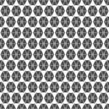 线三角和六角形的无缝的样式 几何墙壁 免版税库存照片