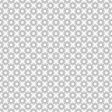 线和圈子的无缝的样式 几何墙纸 Unus 免版税库存图片