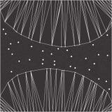 线和小点抽象多角形背景  库存图片
