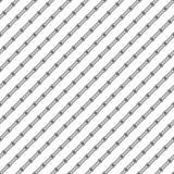 线和小点的无缝的样式 几何镶边墙纸 图库摄影