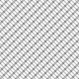 线和小点的无缝的样式 几何镶边墙纸 库存照片