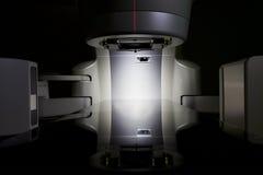 线性加速器X-射线X线体层照相术 库存照片