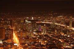 线性旧金山 库存照片