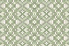 线性绿色装饰品 库存照片