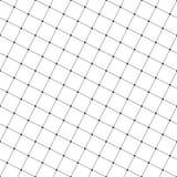 线正方形和小点的无缝的样式 几何墙纸 免版税库存图片