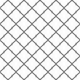 线的无缝的样式 几何墙纸 伊斯兰教的东方人 免版税库存图片