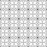 线的无缝的样式 几何墙纸 异常的格子 库存照片