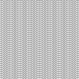 线的无缝的样式 几何波浪墙纸 异常的拉特 免版税库存照片