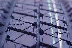 线程数轮胎 免版税库存图片
