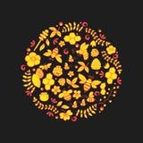 线艺术传染媒介手拉的套蜂蜜动画片乱画反对,标志和项目 免版税图库摄影