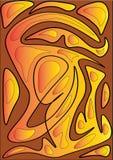 线艺术设计 皇族释放例证