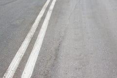 线路二白色 免版税库存照片