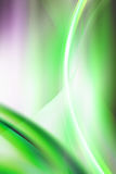 线路和光抽象背景 免版税库存图片